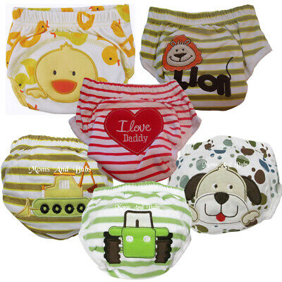 6 Pack Potty Toilet Training Pants For Boys Baby Kids Toddlers Medium Size New