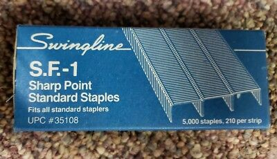 Swingline SF1 Standard Staples (5,000 per box)