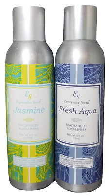 Expressive Scent Air freshener fragrance room spray Jasmine & Fresh Aqua 6fl oz