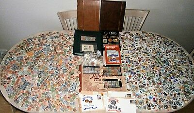 Massive 7kg pre-decimal/decimal collection - 10,000++ MNH/MH and used