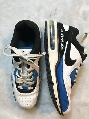 Nike Air Max 2008 Vintage Men Size 10.5 Running Athletic Shoes White Black  Blue db802829f