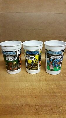 Burger King Masters Of The Universe Cups 1985