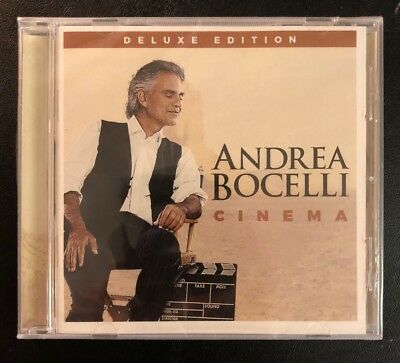 Cinema [Deluxe Edition] by Andrea Bocelli (CD, Apr-2016, Verve) NEW