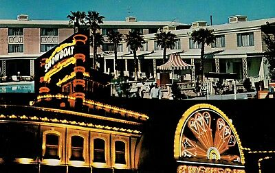 Postcard Featuring The Showboat Hotel & Casino In Las Vegas, Nevada