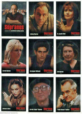 The Sopranos - Mafia - Complete Trading Card Set (72) - Inkworks 2005 - NM