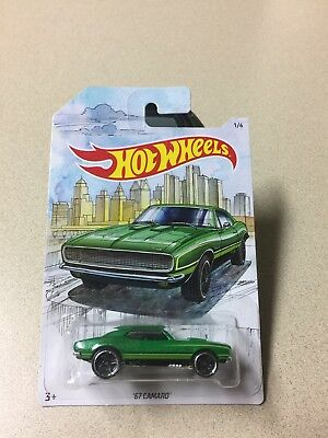 2019 Hot Wheels Detroit Muscle Car Premium 67 Camaro Walmart