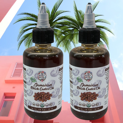 MEGA SALE Buy 1 get one FREE! 200ml PURE JAMAICAN BLACK CASTOR OIL