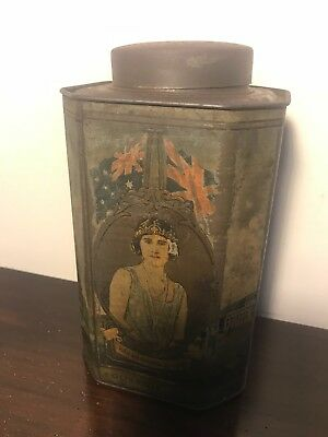 Bushells Blue Label Tea Tin 1927 Opening of the First Federal Parliament
