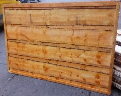 Special Offer Heavy Duty Wooden Fence Panels Waney Lap Feather Edge