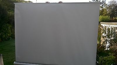 Projection screen, 2 metres square approx.