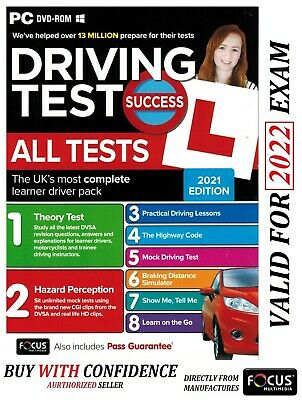 Driving Theory Test Car & Hazard Perception PC DVD-ROM --2019 . *atpc