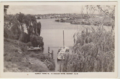 Macleay River Kempsey Nsw Murray Real Photograph Australian Postcard C1940?
