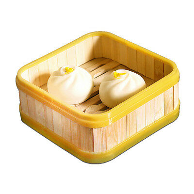 Lidded Food Basket Steamer Cooker Sticky Dim Sum Chinese Traditional 7 inch