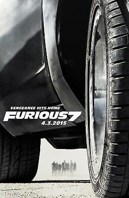 Fast and Furious Poster SKU 34992