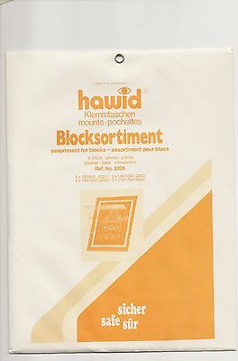 Hawid Mounts Mixed Blocks Pack Of 9 Clear