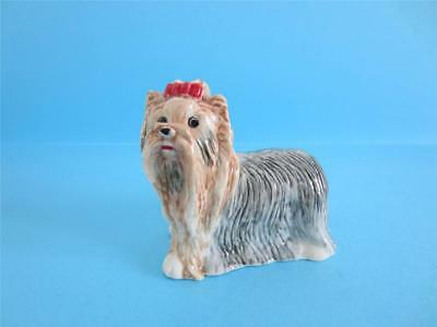 New Amazing Standing Yorkshire Terrier Figurine *mint*
