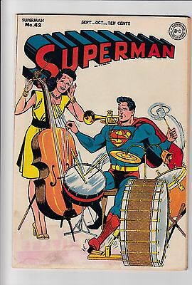 Superman #42 Vol 1 (1946) GD+