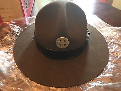 Official Boy Scouts Of America Stetson Campaign Hat W/box
