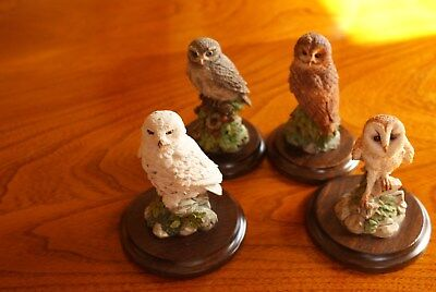Four Country Artists Owl Ornaments