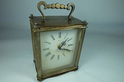 Old Vintage SMITHS 8 Days Carriage Clock