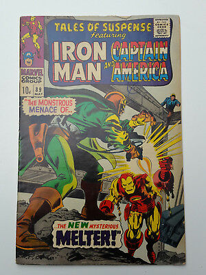 Tales Of Suspense #89 1967 Ironman Cover
