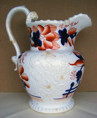 Gaudy Welsh - Large Jug/Pitcher No 793 attributed to John & Richard Riley c1825