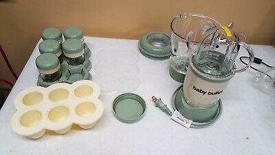 Baby Bullet Storage & Accessories- used in new condition