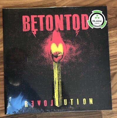 Betontod - Revolution - Black Vinyl LP - Neu