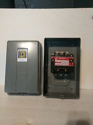 New Square D lighting contactor  Class 8903 Type 5 60 Amps AC Magnetic