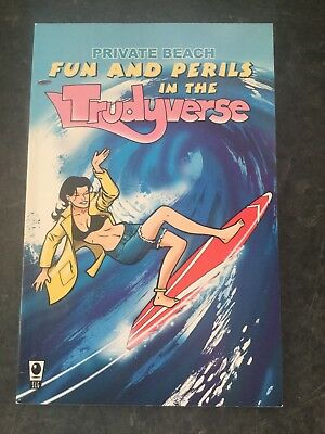 Private Beach Fun And Perils In The Trudyverse Slg Graphic Novel