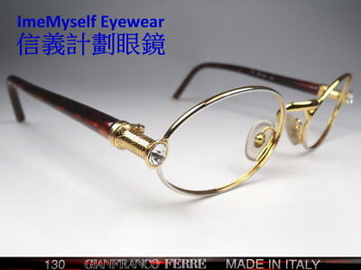 [ ImeMyself Eyewear ] GIANFRANCO FERRE GFF 354 rare! vintage prescription frames