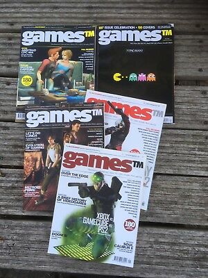 GamesTM Magazine Issue 1, Issue 2, Issue 3, Issue 100 ** RARE Retrogamer Mags!