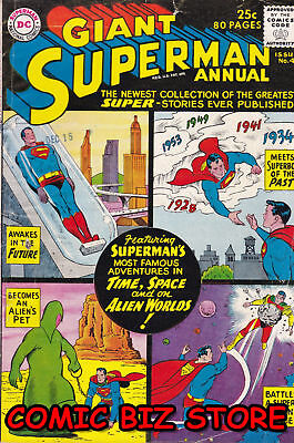 Superman Annual #4 (1961) Silver Age Dc 1St Printing Fn 6.0 Bagged & Boarded