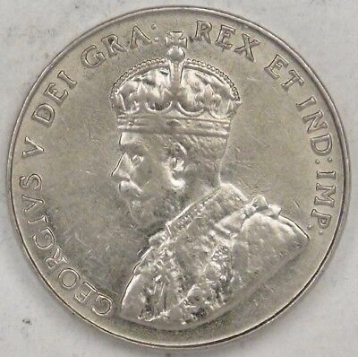 CANADA, George V, 1927, 5 Cents, lots of luster