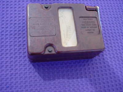Vintage Biddle Megger Nice Brown Case Works  No leads  500 Volts