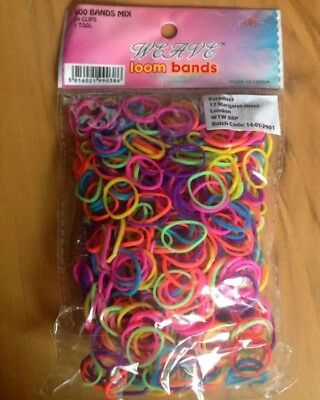 wholesale joblot 900 x packs 600 loom bands toys market stall carboot