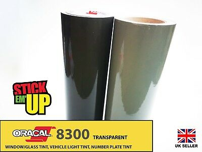 Oracal 8300 Window Tint Film Transparent Self Adhesive Vinyl