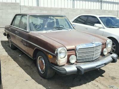 1976 300-Series -- 1976 mercedes 300 D  36,729 Miles brown  Engine Types 5-cyl. 300 Automatic