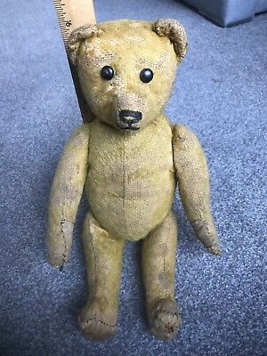 "Rare 13"" Antique Schuco Yes No Bear Bit Worn Used Condition Must See Buy Now NR!"