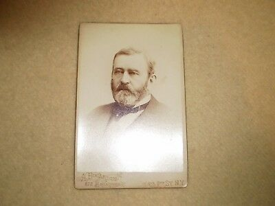 U.S. Grant Cabinet Card By A. Bogardus