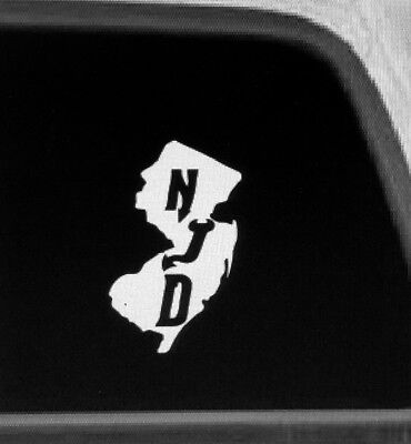 s NJD1 New Jersey Devils cornhole board or vehicle decal