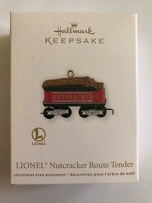 2012 Hallmark LIONEL Nutcracker Route Tender Christmas Train Die-Cast NEW MINT