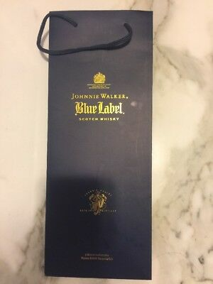 "New Johnnie Walker Blue Label Gift Bag - Bag Only 15"" x 6"""