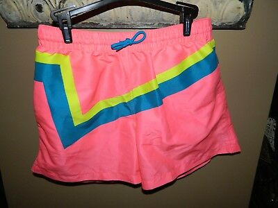 Chubbies Pink Swim Shorts Trunks Mens Mesh Lined Size Large