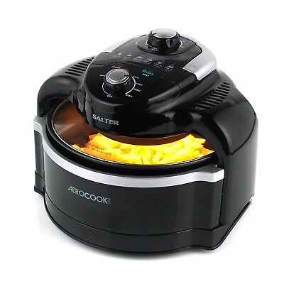 New Salter EK2386 Aero Cook Pro Air Fryer with Halogen Convection and Infrared