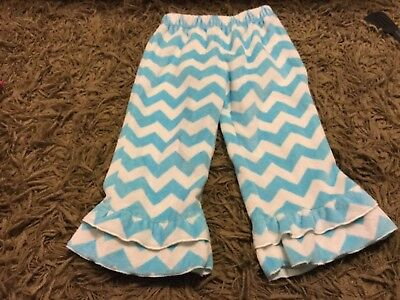 Girls Lolly Wolly Doodle Boutique pants size 3T Chevron