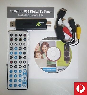 GENUINE HD Digital USB TV Tuner DVB-T Windows PCTV HDTV