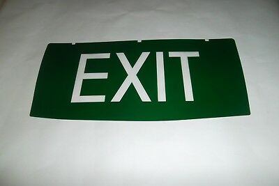 "Emergency Exit Light Exit   Replacement INSERT ONLY ""New"""