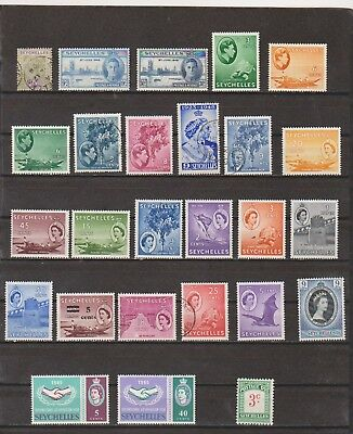 Seychelles Mostly Mint Collection of 1960's Issues High CV