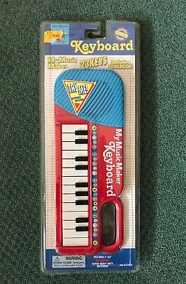 """DSI Toys """"My Music Maker"""" Keyboard and Songbook ❤️ BRAND NEW & SEALED"""